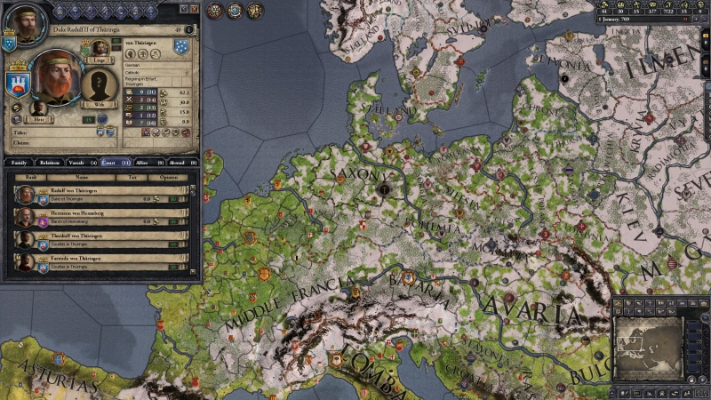 Crusader Kings II: Dynasty Shields Charlemagne. Дополнение